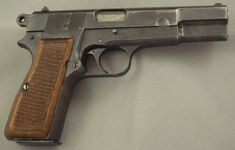 Old but gold: Browning Hi-Power, single-action, 9mm semi-automatic, Detachable box magazine; capacities: 13 rounds