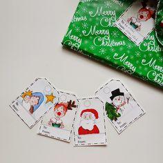 Snugglebug University: Have You Printed Your Christmas Gift Tags Yet?
