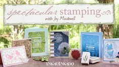 Learn Stamping Techniques in Craftsy's Class: Spectacular Stamping - FREE mini-class: Advance your paper crafts with innovative stamping techniques! Join Inkadinkado Ambassador Joy Macdonell & go beyond the basics. - via @Craftsy