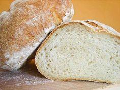 Twoje&Moje: Chleb toskański bez soli (Saltless Tuscan Bread) Polish Recipes, Polish Food, Food And Drink, Bread, Baking, Polish Food Recipes, Bakken, Backen, Bakeries