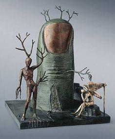 Escultura de Dalí