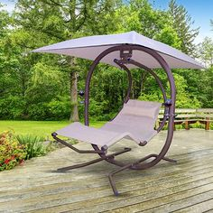 Kitnet & Studio Decoration: Designs & Photos - Home Fashion Trend Garden Swing Seat, Pergola Swing, Pergola Plans, Pergola Kits, Pergola Ideas, Garden Furniture, Outdoor Furniture, Outdoor Decor, Furniture Design