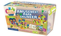 Amusement Park Engineer by Thames & Kosmos--GREAT Engineering Kit for kids 3+ & their parents; Ships FREE to New England, NJ, NY & PA!