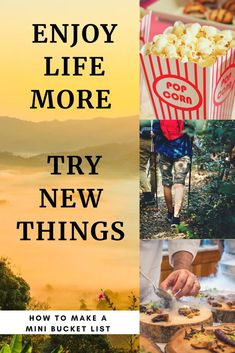 Here a list to help you get started enjoying life more. Make a mini bucket list and start your own adventures. Happy Mom, Happy Life, Are You Happy, Self Care Routine, Love Your Life, How To Better Yourself, Inspirational Gifts, Enjoying Life, Personal Development