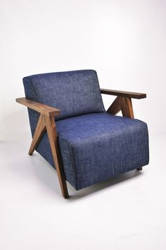 Jeans Chair from Jess Design #blue