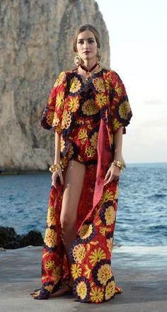 Dolce + Gabbana Alta Moda Fall 2014