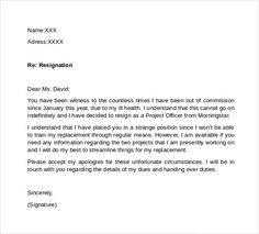 Two Weeks Notice Letter Free Word Pdf Documents Download Business