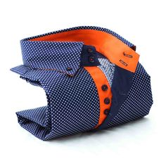 Tommy navy polka dot shirt http://www.botagi.com.au/collections/mens-shirts/products/boaa1s3