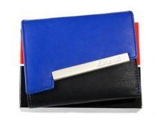 8436404d653b8 Mały zgrabny damski Portfel skórzany LORENTI LT 05 CCF BLUE Pierre Cardin