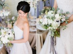 Winter Wedding Inspiration with Faux Fur, Sparkle, Chadeliers in Annapolis, Maryland | Natalie Franke Photography