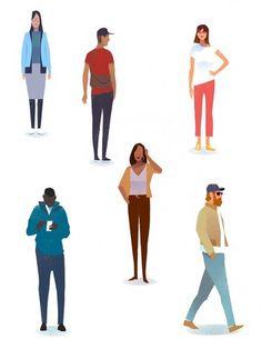Mark Boardman | Meiklejohn Illustration Courses, Flat Design Illustration, Simple Illustration, Character Illustration, Character Flat Design, Simple Character, Character Design Tutorial, Illustrator Video, Illustrator Tutorials