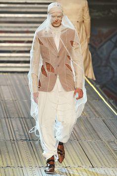 John Galliano Spring 2010 Menswear