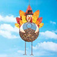 Thanksgiving Turkey-shaped Bird Feeder - 34980
