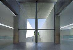 Tadao Ando - Langen Foundation, Neuss Via Tomas Riehle. Tadao Ando, White Concrete, Foundation, Flooring, Architecture, Building, Interior, Furniture, Spaces