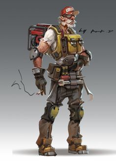 ArtStation - as you see.though i'm old,i can also do sth that you guys are not good at., Rock D