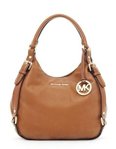 MICHAEL Michael Kors Medium Bedford Shoulder Tote Luggage