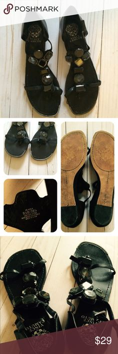 Vince Camuto Kaila Sandals Size 9.5B Previously used and in decent condition. Vince Camuto Shoes Sandals