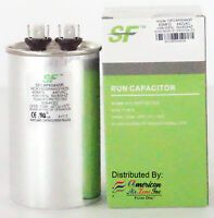Trane Run Capacitor 55 Mfd 370 440v Pack Of 1 Round For Motor Comp Capacitor Trane Air Filter Lights