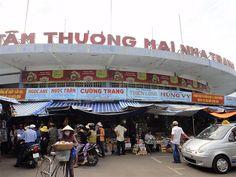 Dam Market in Nha Trang, Vietnam