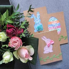 Easter Presents, Karten Diy, Easter Eggs, Diy And Crafts, Gift Wrapping, Blog, Ideas, Paper Wrapping, Wrapping Gifts