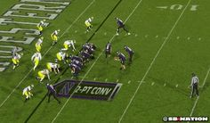 Michigan Wins After Northwestern QB Slips During Two-Point Conversion [GIF] | FatManWriting