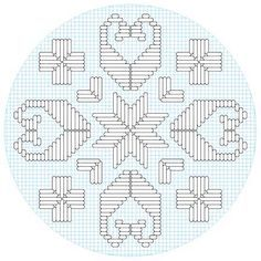 Hardanger Embroidery Patterns stars, ships and crosses - hardanger embroidery for kids Types Of Embroidery, Learn Embroidery, Hand Embroidery Stitches, Embroidery Techniques, Cross Stitch Embroidery, Embroidery Patterns, Cross Stitches, Broderie Bargello, Hardanger Embroidery