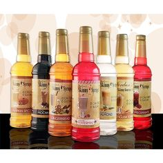 Jordan's Skinny Syrups ml. Shot Recipes, Syrup Recipes, Canned Spaghetti Sauce, Cotton Candy Flavoring, Cocktail Syrups, Hcg Diet Recipes, Healthy Food Options, Healthy Shakes, Signature Cocktail