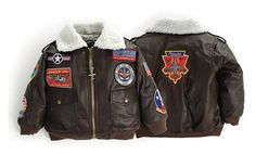 A reproduction of a classic US Navy Elite Top Gun Type G-1 bomber jacket, complete with a simulated fleece collar.