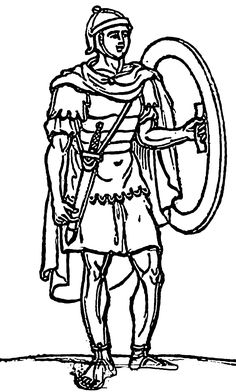 Rome Forum Coloring Page