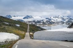 County Road 55, highest mountain road of Norway by Alexander Nikiforov on 500px