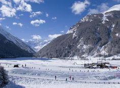 Im Schlitten durch den Park   Aostatal