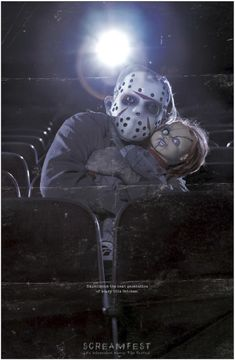 This is a great example of imagery and humor used to communicate a funny message. The fact that it is so scary that it scares Jason. I love the fact that he is holding a Chucky doll as well. Dark Beauty, Funny Horror, Horror Movie Characters, Horror Icons, Best Horrors, Fright Night, Scary Movies, Funny Movies, Best Horror Movies
