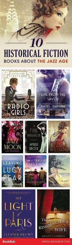 10 historical fiction books about the Jazz Age,