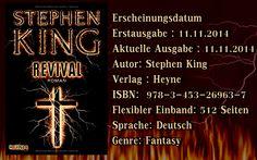 """Leserattes Bücherwelt: [Gastrezension von Karl Donatz] """"Revival"""" Stephen ..."""