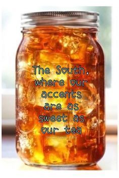 Just hearing those words make ya sigh a satisfied sigh. I am a Southern Woman. Southern women love their Sweet . Mcdonald's Sweet Tea Recipe, Tea Syrup Recipe, Sun Tea Recipes, Sweet Tea Recipes, Southern Sweet Tea, Southern Women, Southern Charm