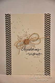 Stampin' Up! Endless Wishes Christmas Card. Stampin' Dolce: Christmas Cards. www.stampindolce.com