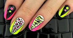 """DIY Nail Art -- """"Party Nails!"""" 