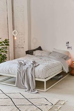 Urban Outfitters Reversible Stripe Duvet Cover   #ad