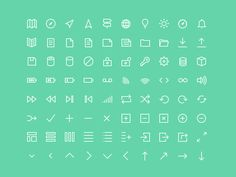 Lush Icons Grid Preview