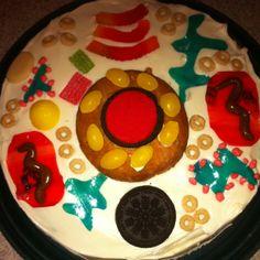 Animal cell cake.