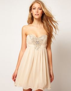 sweetheart knee length evening dress with sequin