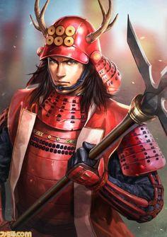Yukimura Sanada - The Koei Wiki - Dynasty Warriors, Samurai Warriors, Warriors Orochi, and Sengoku Musou, Sengoku Basara, Warriors Game, Dynasty Warriors, Warrior 1, Fantasy Warrior, Samurai Warriors Anime, Nobunaga's Ambition, Kabuto Samurai