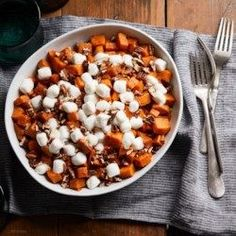 Slow-Cooker Sweet Potato Casserole with Marshmallows - EatingWell.com