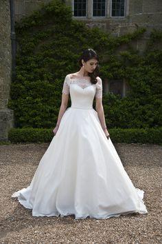 Sian Wedding Dress - Augusta Jones 2014 Collection Oh. My. God.
