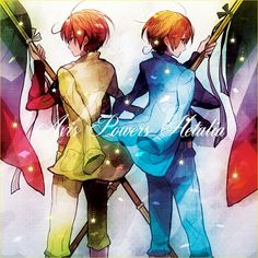 Italy, though he was split into North and South as an infant, still exibits the union of twins~