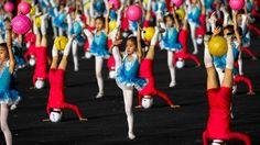 children, dancing, Pyongyang, North Korea, Mass Games