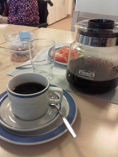 Aamun paras hetki. Kahvia!