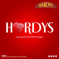 Hardys Original Sweetshop – Supporting @GiveBloodNHS #MissingType