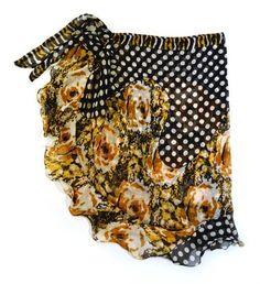 Sari Sarong  Price : $36.00   Upscaled Sari made into a perfect beach sarong