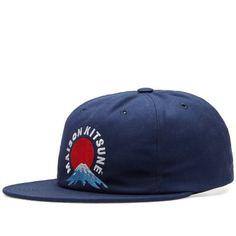Maison Kitsuné Mount Fuji Baseball Cap (Navy) 0681c6017e32